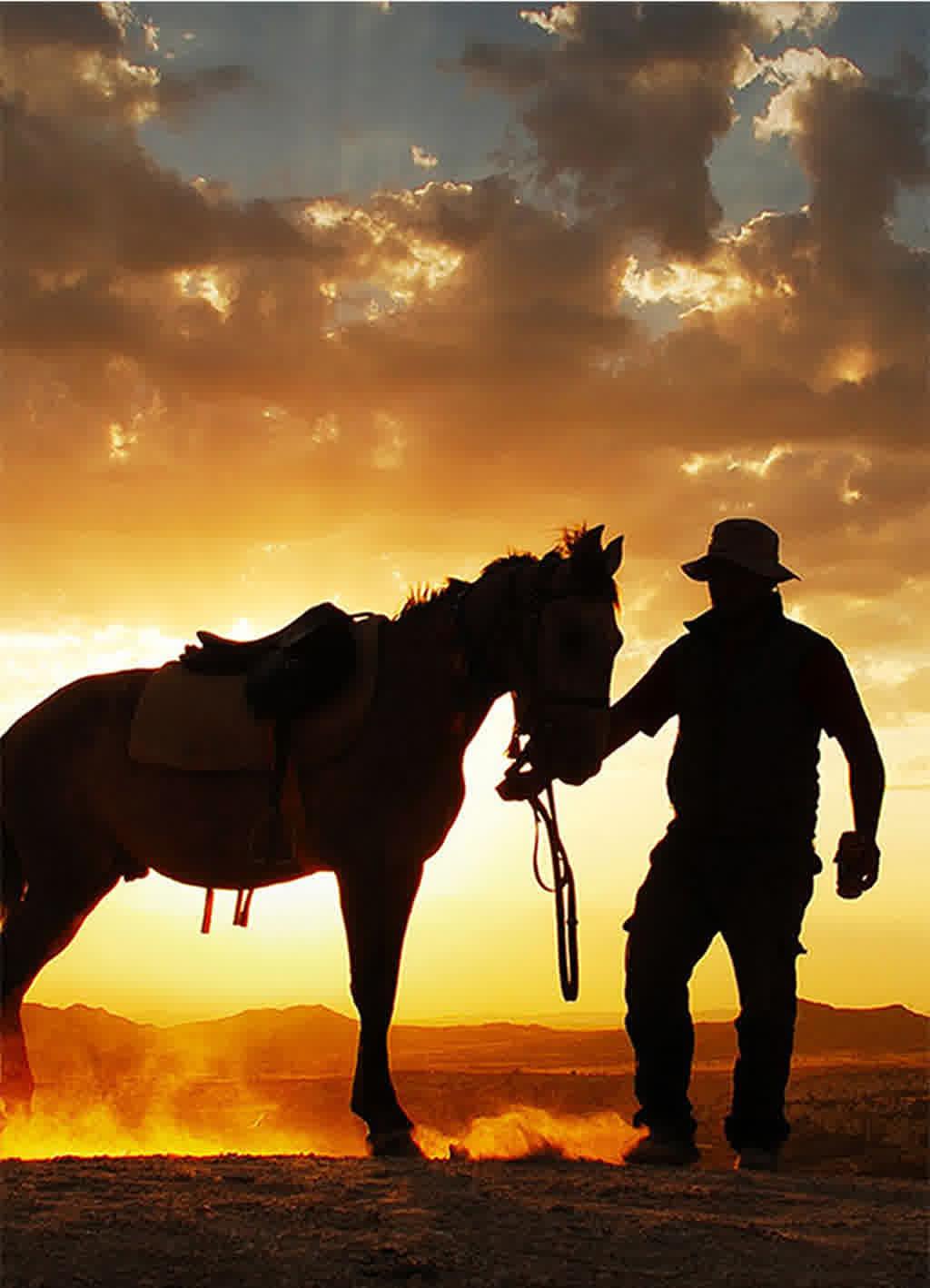 Gün Batımı At Turu